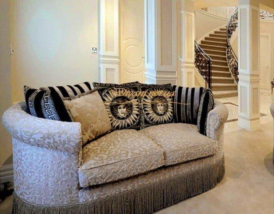нестандартный прямой диван под заказ