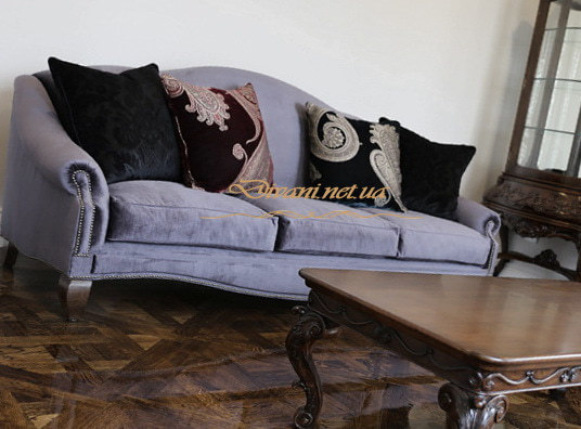 нестандартный прямой диван под заказ Киев