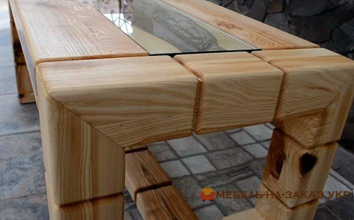 деревянный стол под заказ
