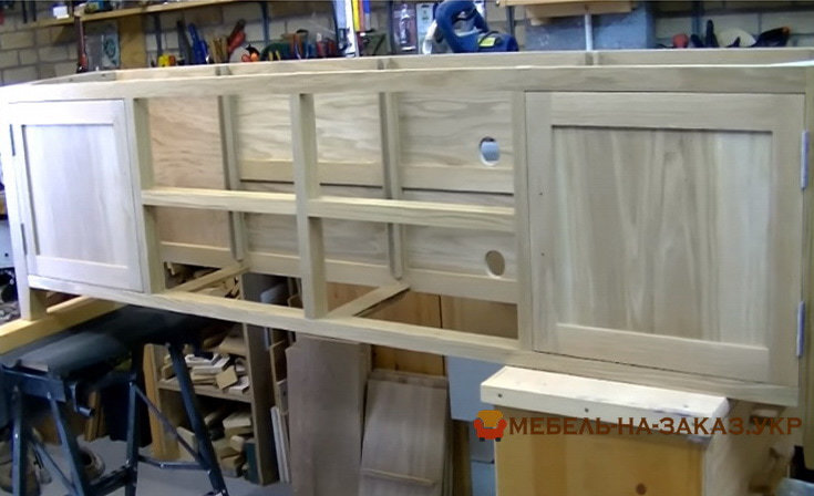 производство мебели из массива дуба
