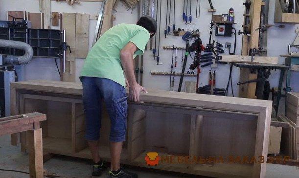 заказать изготовление деревянной мебели в Киеве