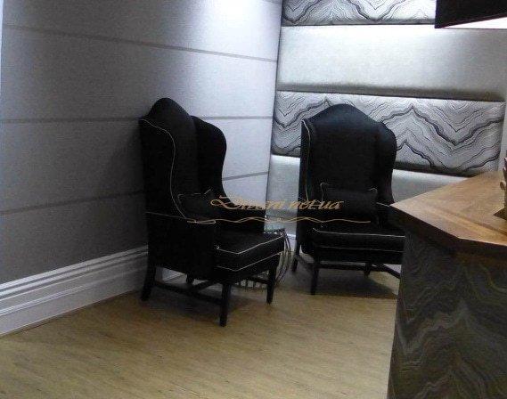 Черные кресла с высокой спинкой под заказ Выжгород