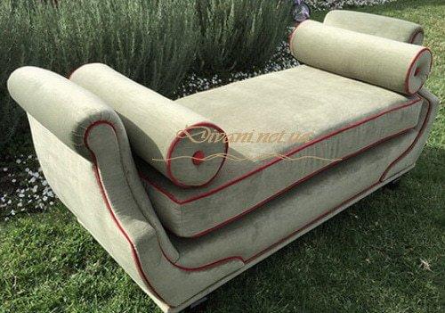 пуфик с подушками под заказ Вышгород