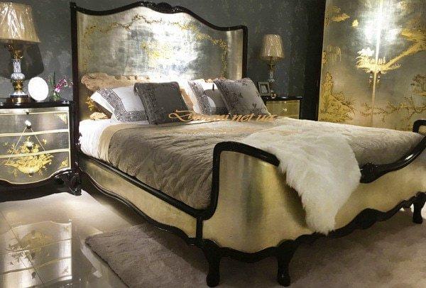 Кровати для элитной гостиницы с мягким изголовьем Выжород