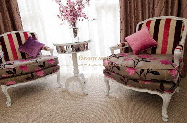 розовые диваны и кресла под заказ Выжгород