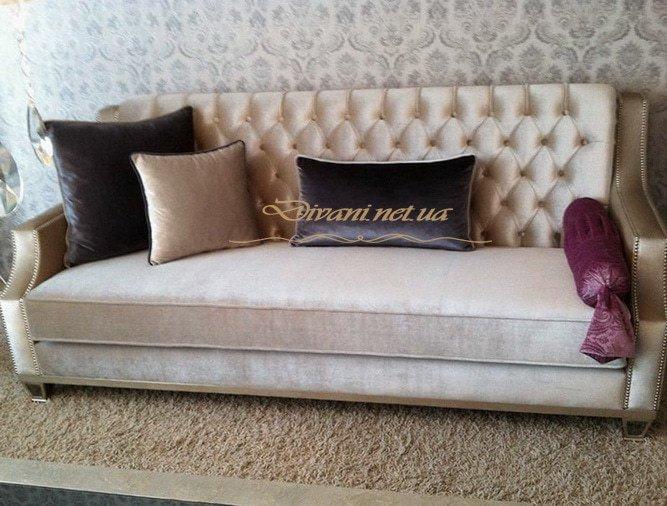 прямой диван мягкий честен