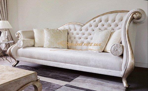 нестандартный прямой диван Фастов