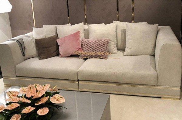 нестандартный прямой диван Оболонь