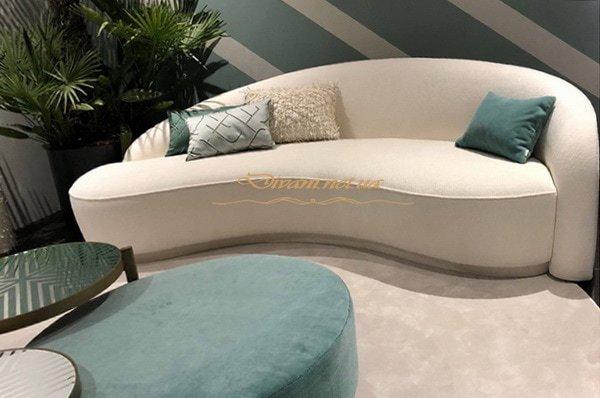 авторский диван прямой под заказ Левый берег