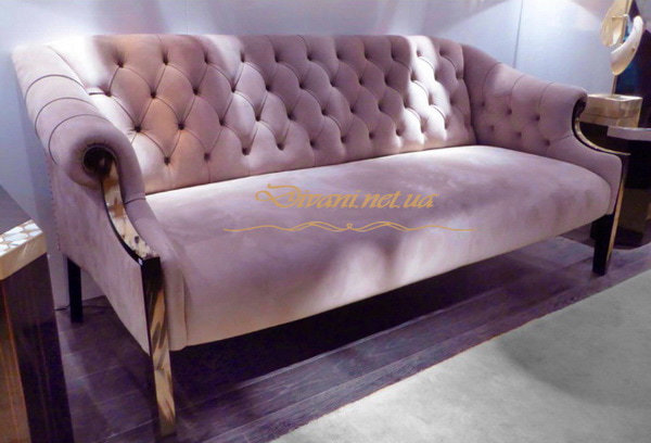 черный диван кресло розовый
