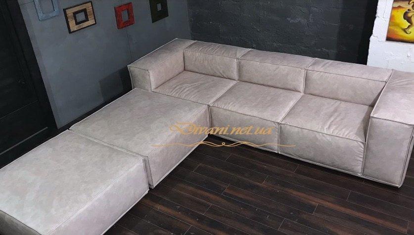 Варианты размещения секций модульного дивана