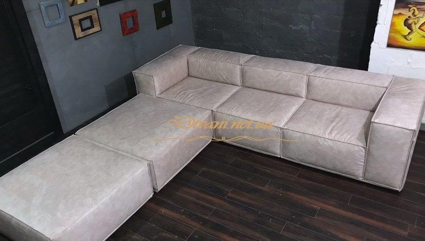 заказной модульный диван в спальню под заказ