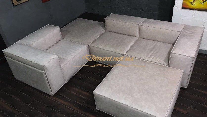 заказной модульный диван в дом Буче