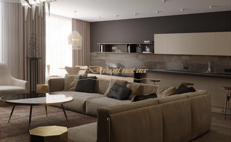 дорогая мягкая мебель в гостиную в Киеве