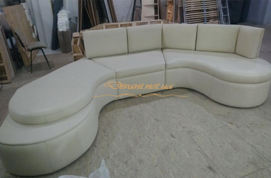формы радиусных диванов