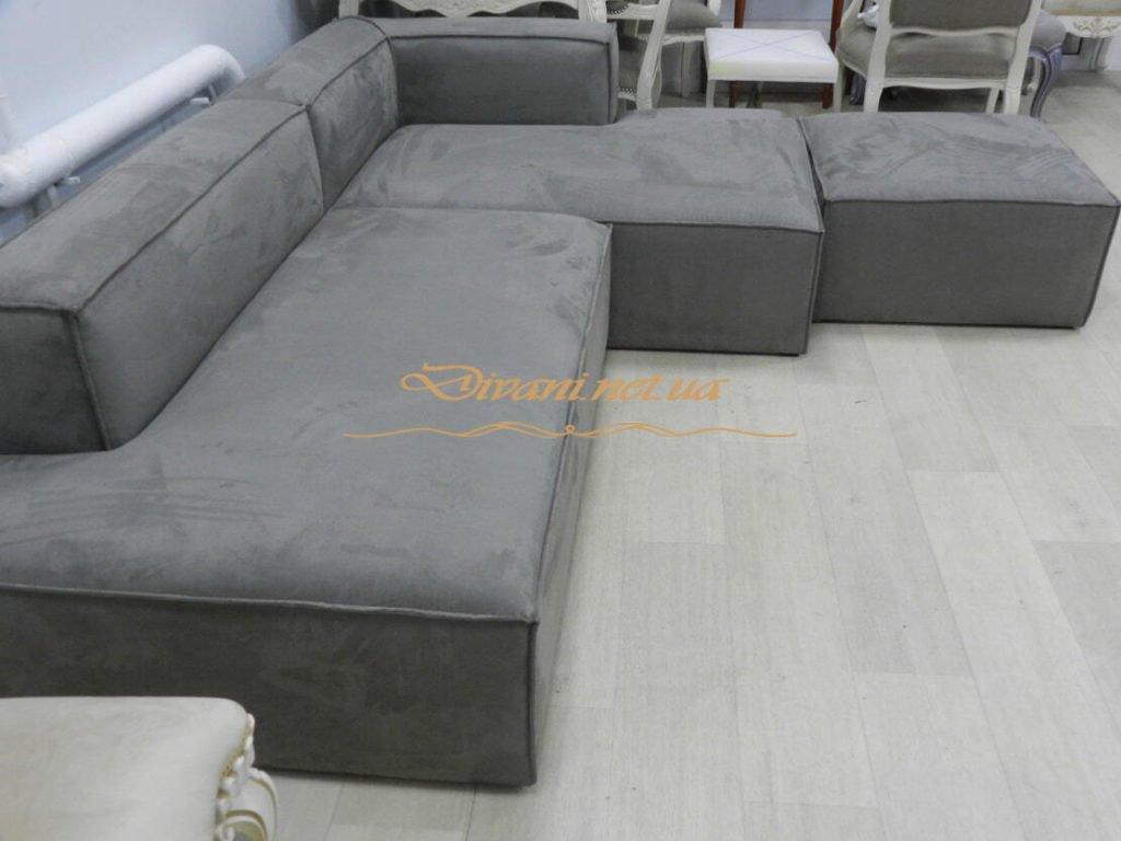 варианты разстановки модульного дивана под заказ Киев