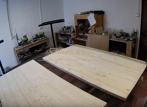 Мебель из металла и дерева на заказ