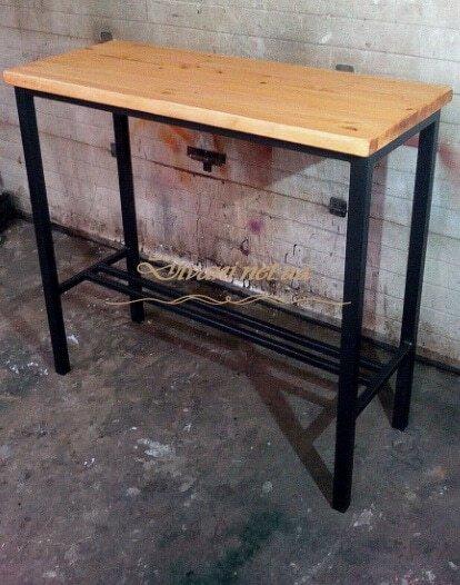 барный столик лофт