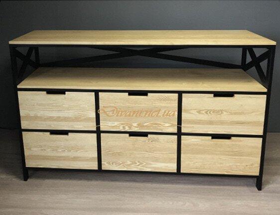 как выглядет мебель лофт на заказ