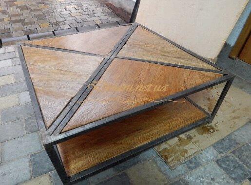 Квадраный стол LOFT под заказ Украина