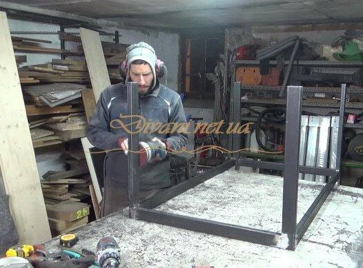 мебель из металла loft