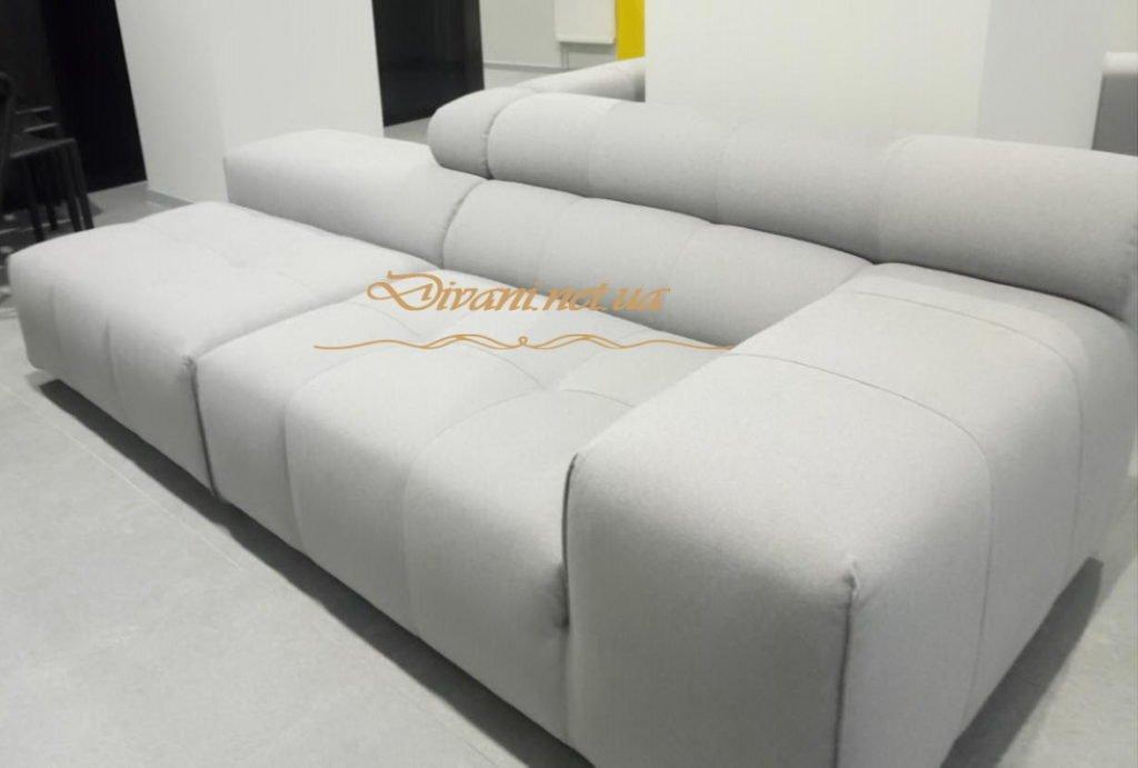 белый угловой диван на заказ