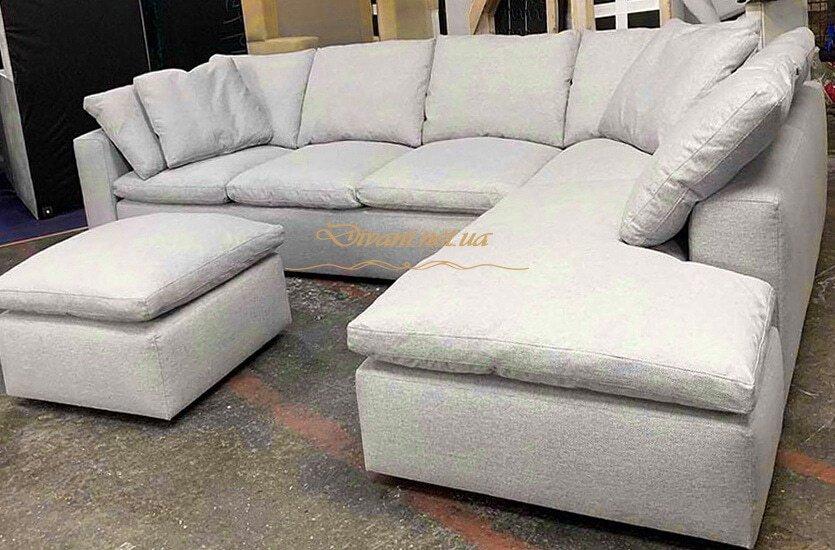 как сделать уговой диван