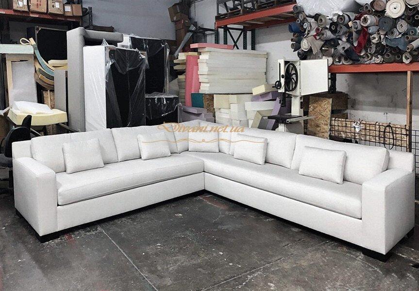диван угловой белый на заказ