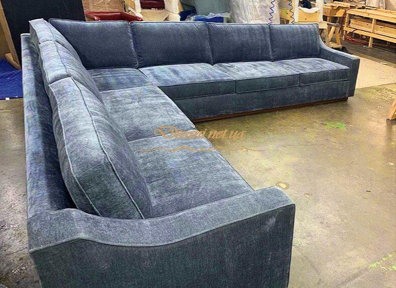 заказать угловой креативный диван на заказ