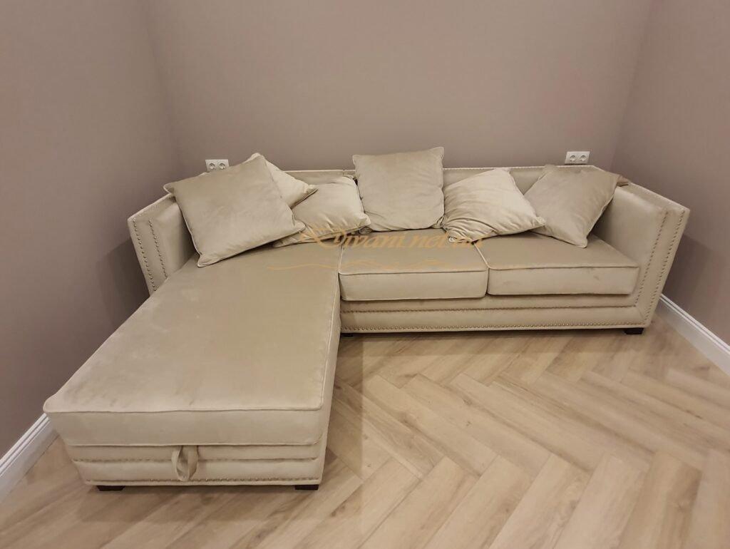 Изготовить угловой диван на заказ недорого