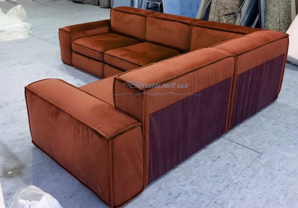 оранжевый креативный диван на заказ