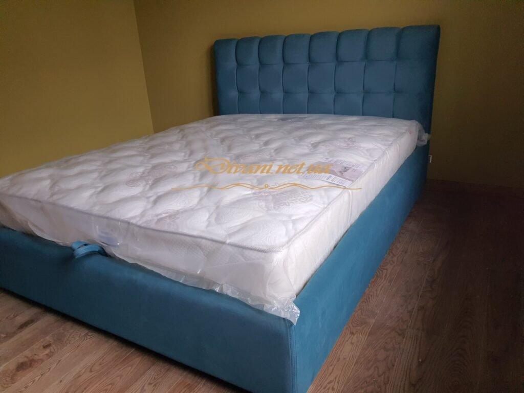 продажа кроватей с мягкиим изголовьем