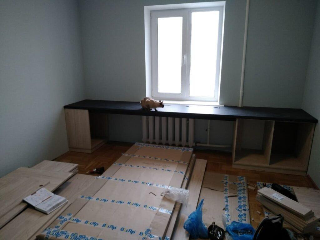 деревянная мебель в офис