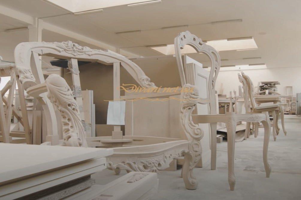 деревянная мебель с резьбой художественной на заказ