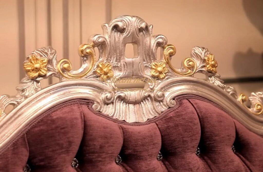 декор из дерева для дивана