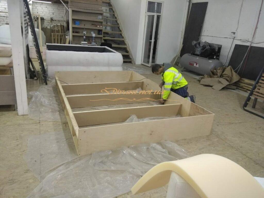 Изготовление каркаса кровати производство