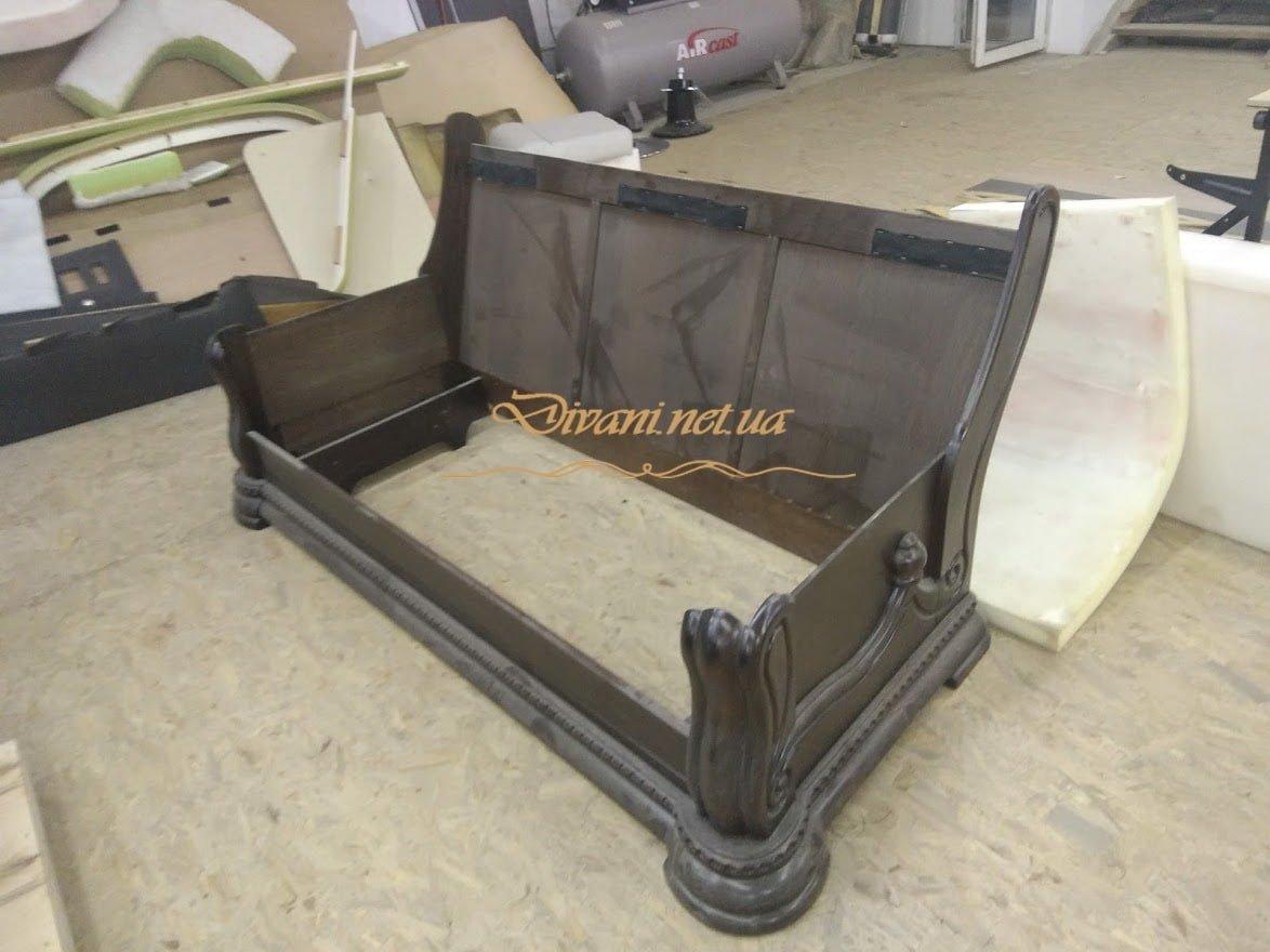 каркас классического дивана из дерева